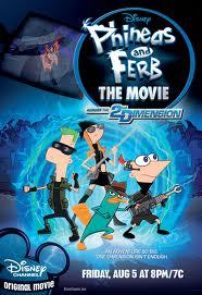 Phineas Y Ferb: A Traves De La Segunda Dimension online divx
